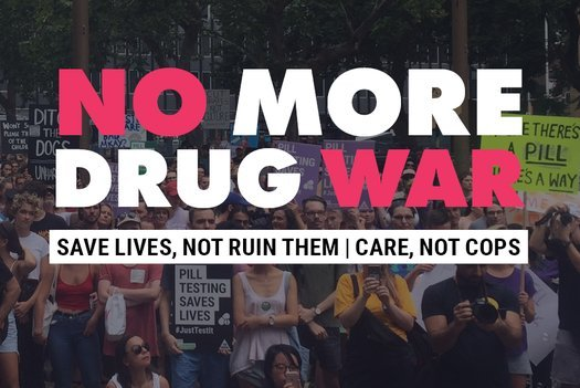 image of No More Drug War: save lives, not ruin them